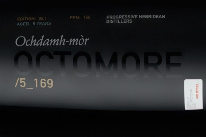 Octomore 5 / 169ppm: Outrageous Numbers