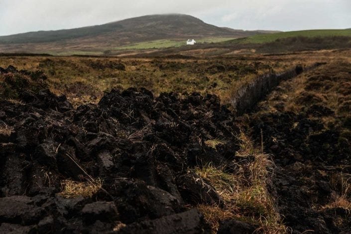 How is Octomore so Peated? - Peat Bank on Islay