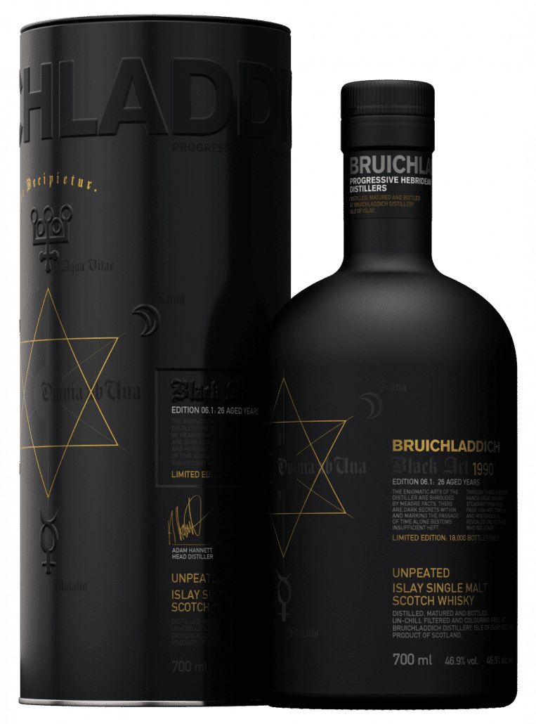 Bruichladdich - Black Art 1990 - Edition 06.1