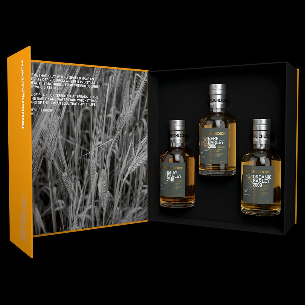 Bruichladdich Barley exploration gifting pack