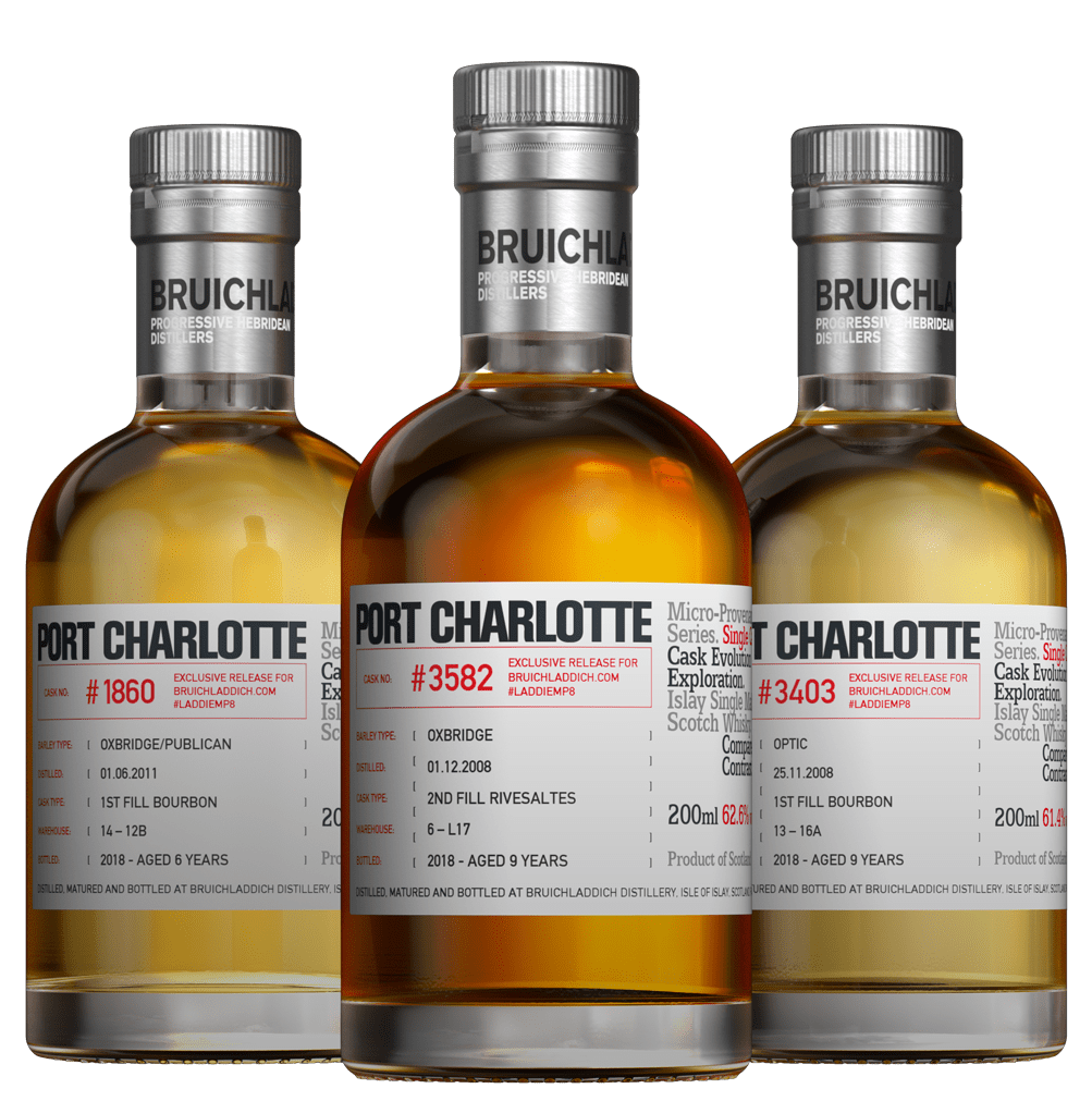 Port Charlotte MP8 Tasting kit - LaddieTV