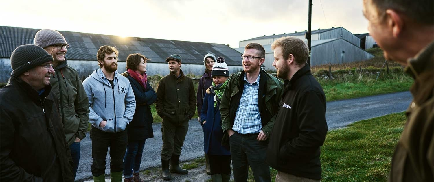 agronomy summit on Bruichladdich's croft 2018