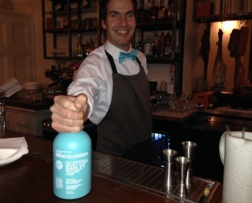 Bruichladdich Party at the Clove Club, Shoreditch, London